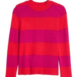 Banana Republic rugby striped sweater